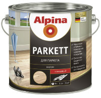 Купить Alpina PARKETTLACK GLANZEND лак для паркета 2.5 л