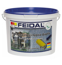 Купить Feidal Fassad-Relief economic фасадная рельефная краска 10л
